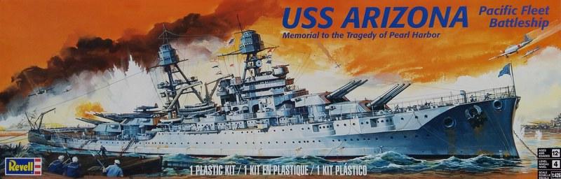 U.S.S. Arizona, Revell 1/426  Comp1116