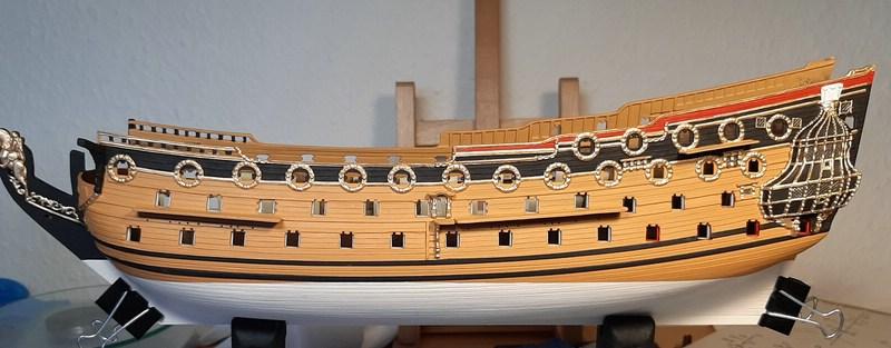 H.M.S. Prince 1670, Airfix 1/180 (09254) Comp1138