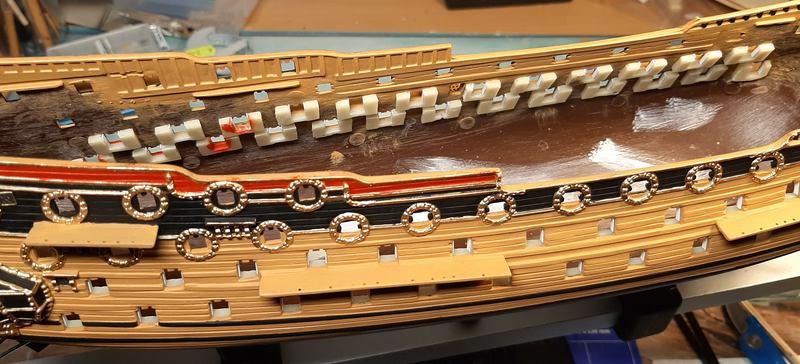 H.M.S. Prince 1670, Airfix 1/180 (09254) Comp1139