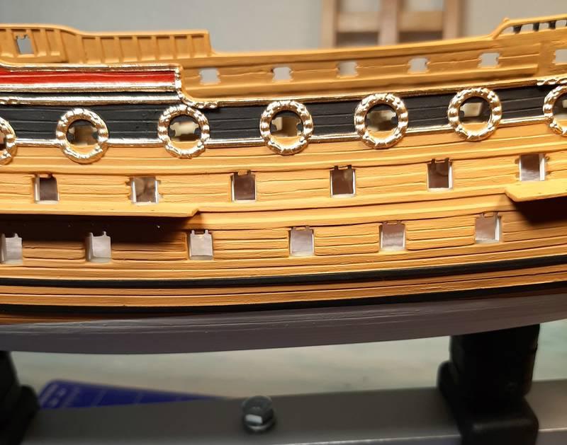 H.M.S. Prince 1670, Airfix 1/180 (09254) Comp1141
