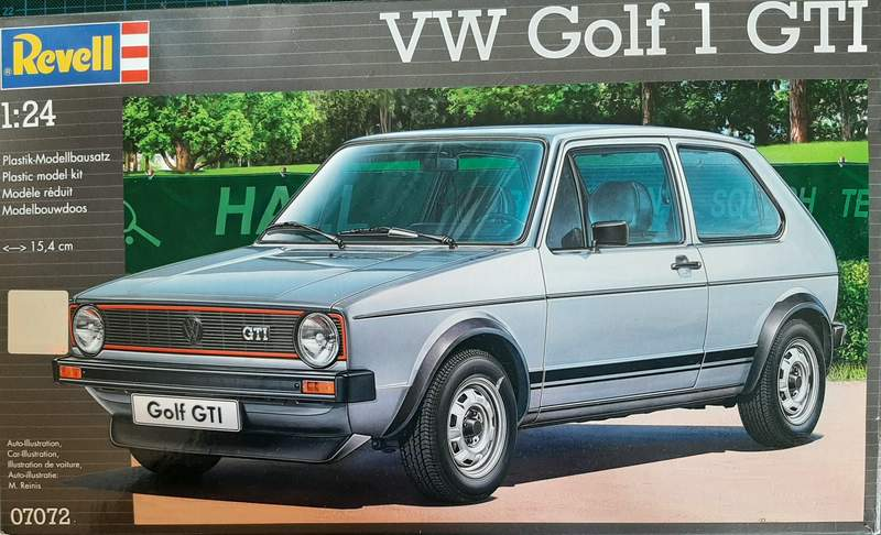 VW Golf 1 GTI, Revell, 1/24 (07072) Comp1319