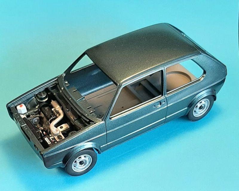 VW Golf 1 GTI, Revell, 1/24 (07072) Comp1350