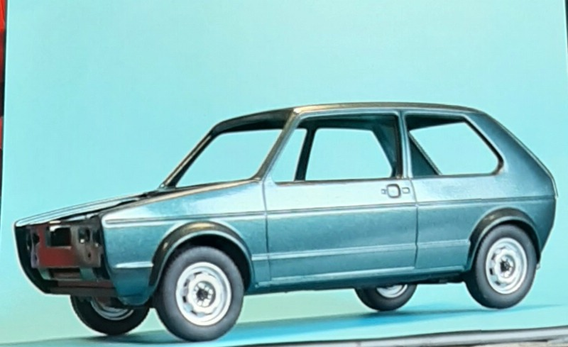 VW Golf 1 GTI, Revell, 1/24 (07072) Comp1351