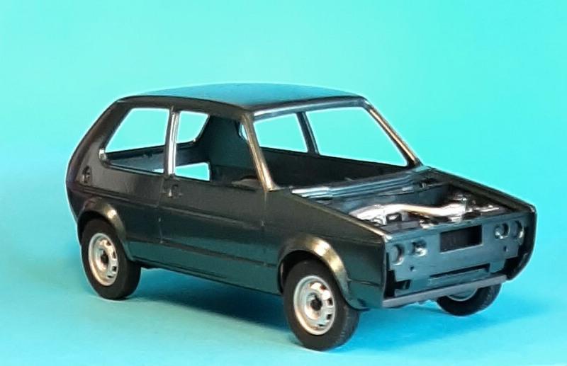 VW Golf 1 GTI, Revell, 1/24 (07072) Comp1352