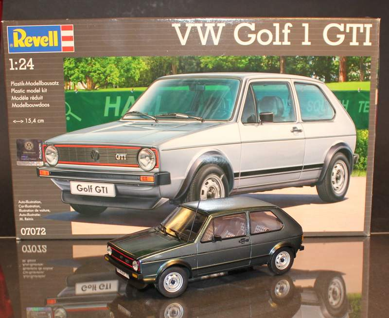 VW Golf 1 GTI, Revell, 1/24 (07072) Fertig. Comp1392