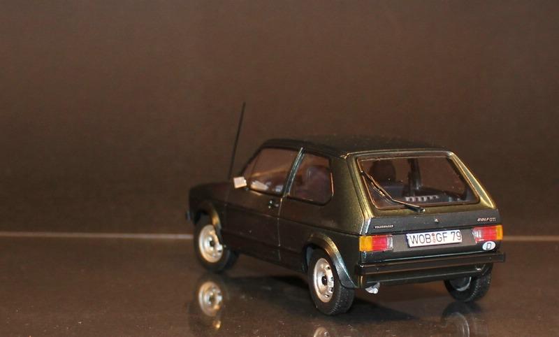 VW Golf 1 GTI, Revell, 1/24 (07072) Fertig. Comp1393