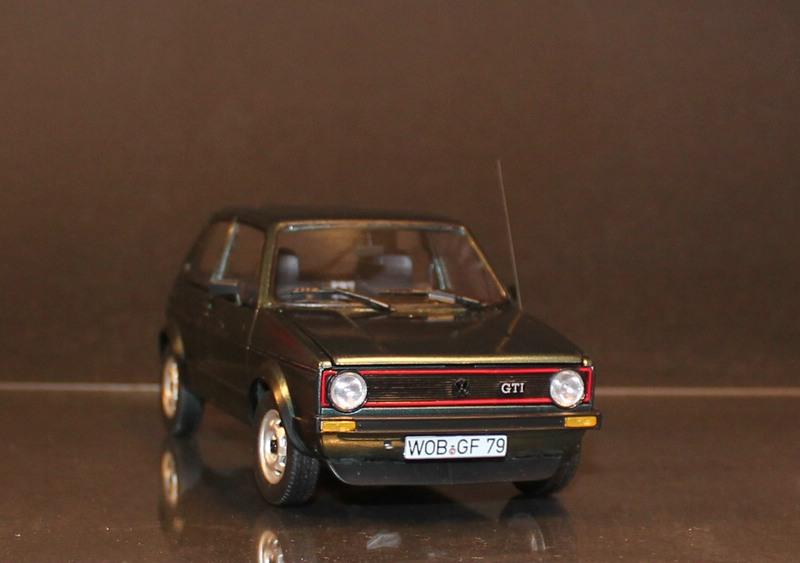 VW Golf 1 GTI, Revell, 1/24 (07072) Fertig. Comp1396