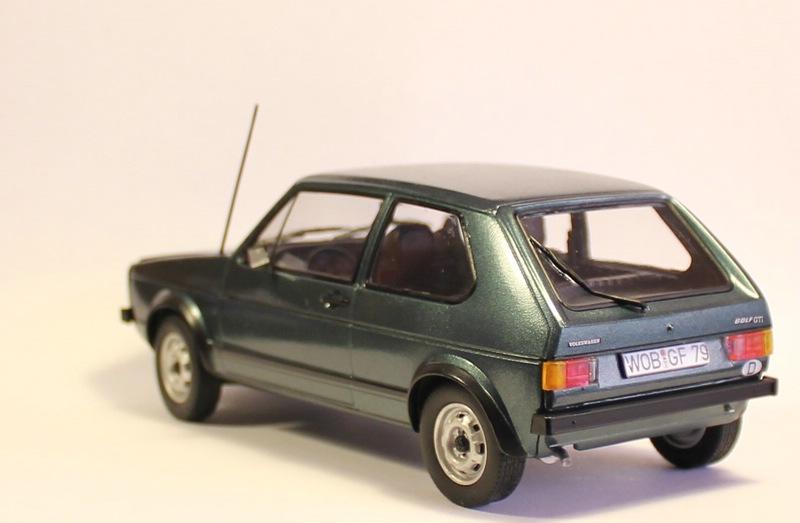 VW Golf 1 GTI, Revell, 1/24 (07072) Fertig. Comp1397