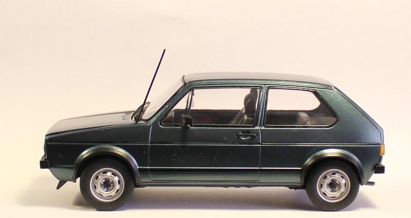 VW Golf 1 GTI, Revell, 1/24 (07072) Fertig. Comp1398