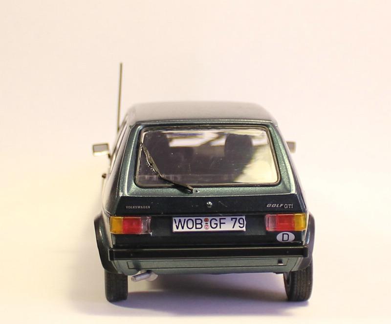 VW Golf 1 GTI, Revell, 1/24 (07072) Fertig. Comp1399