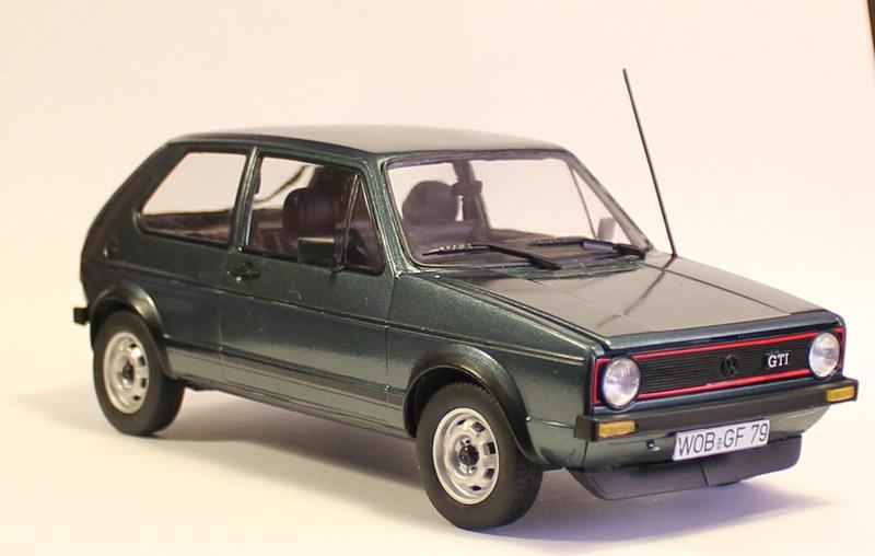 VW Golf 1 GTI, Revell, 1/24 (07072) Fertig. Comp1400