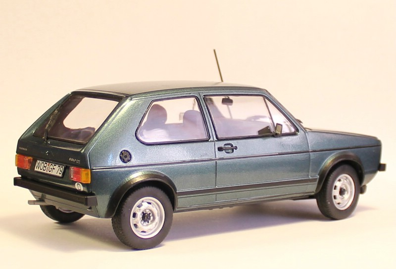 VW Golf 1 GTI, Revell, 1/24 (07072) Fertig. Comp1401