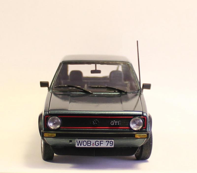 VW Golf 1 GTI, Revell, 1/24 (07072) Fertig. Comp1402