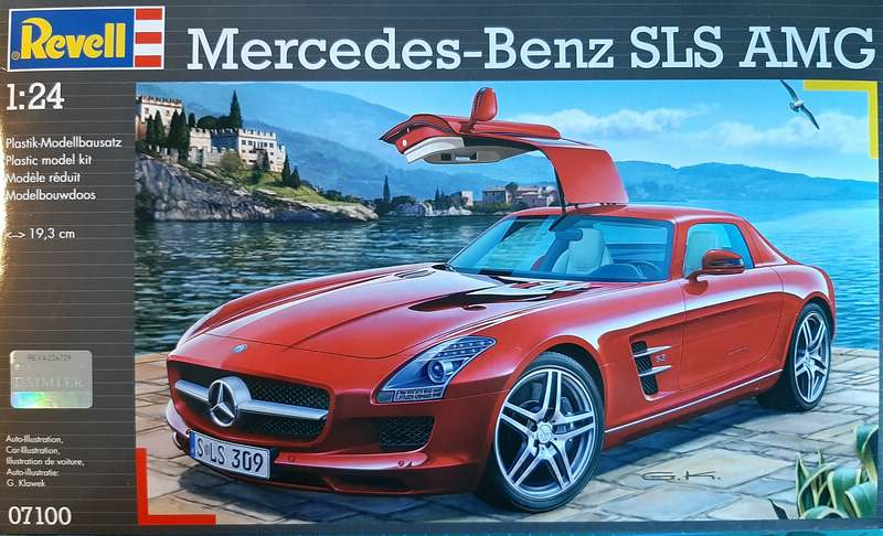 Mercedes-Benz SLS AMG, Revell, 1/24 (07100) Comp1527