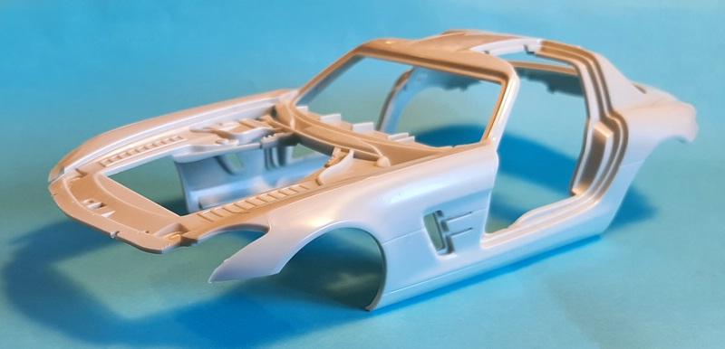 Mercedes-Benz SLS AMG, Revell, 1/24 (07100) Comp1529