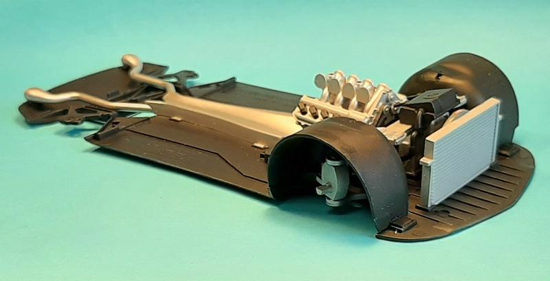 Mercedes-Benz SLS AMG, Revell, 1/24 (07100) Comp1542