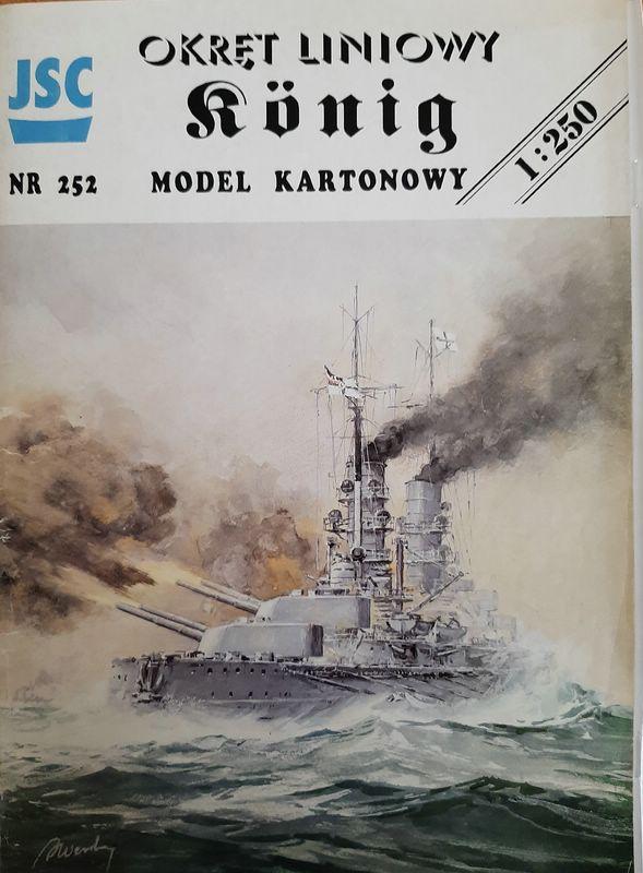 SMS König, JSC, 1/250 Comp1553