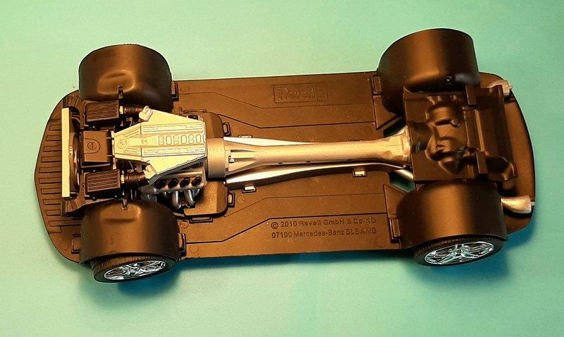 Mercedes-Benz SLS AMG, Revell, 1/24 (07100) Comp1561