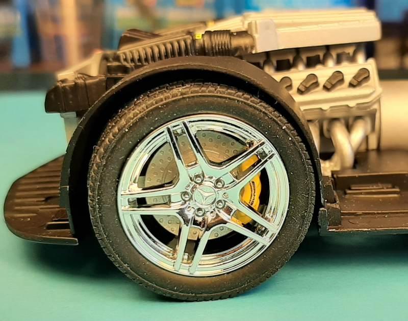 Mercedes-Benz SLS AMG, Revell, 1/24 (07100) Comp1563