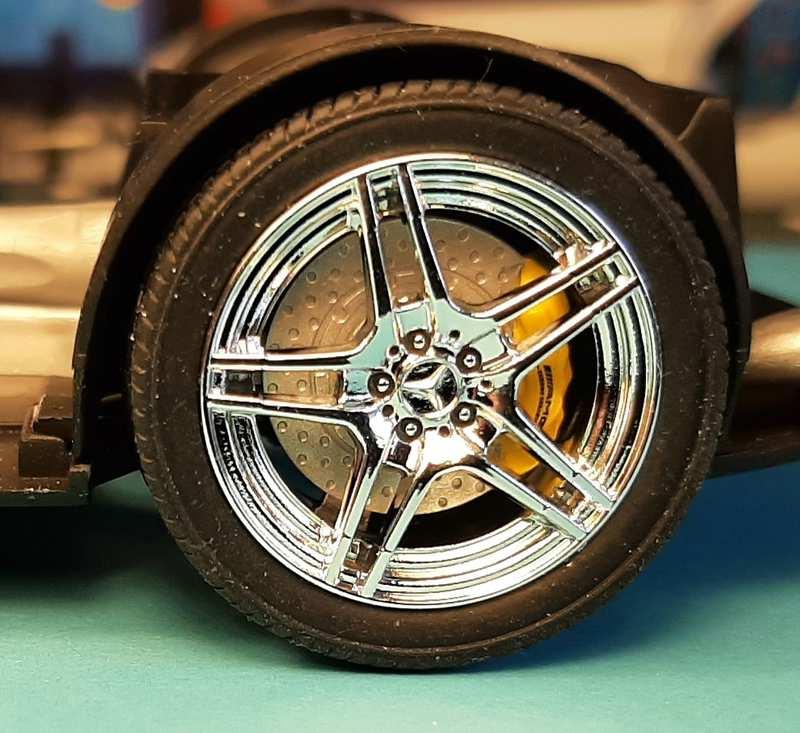 Mercedes-Benz SLS AMG, Revell, 1/24 (07100) Comp1564