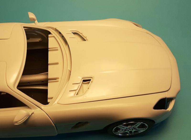 Mercedes-Benz SLS AMG, Revell, 1/24 (07100) Comp1567
