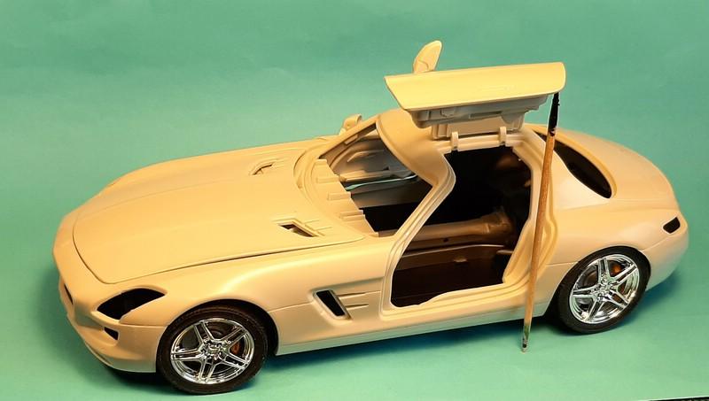 Mercedes-Benz SLS AMG, Revell, 1/24 (07100) Comp1569