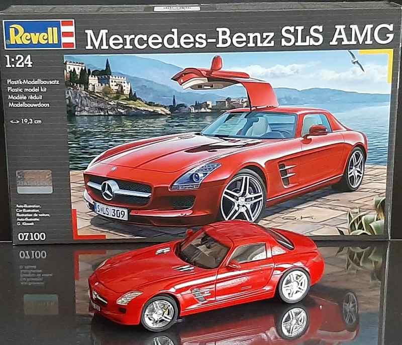 Mercedes-Benz SLS AMG, Revell, 1/24 (07100) Comp1601