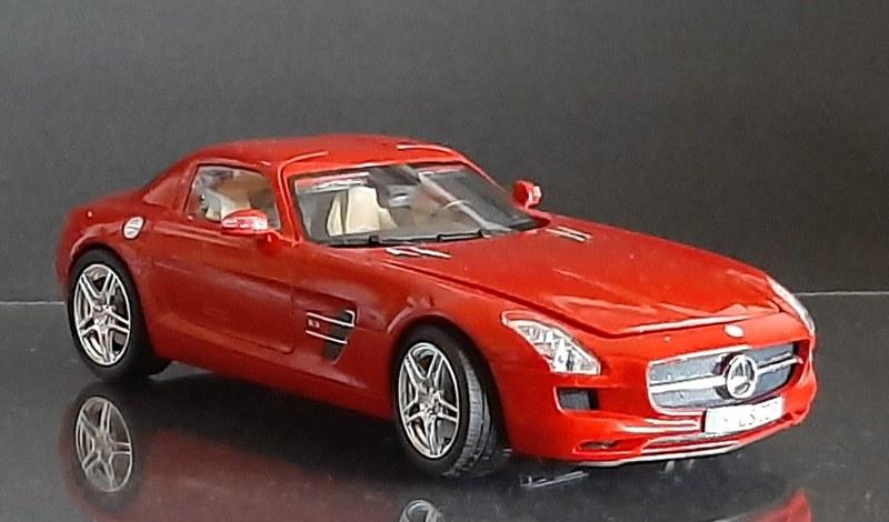Mercedes-Benz SLS AMG, Revell, 1/24 (07100) Comp1602