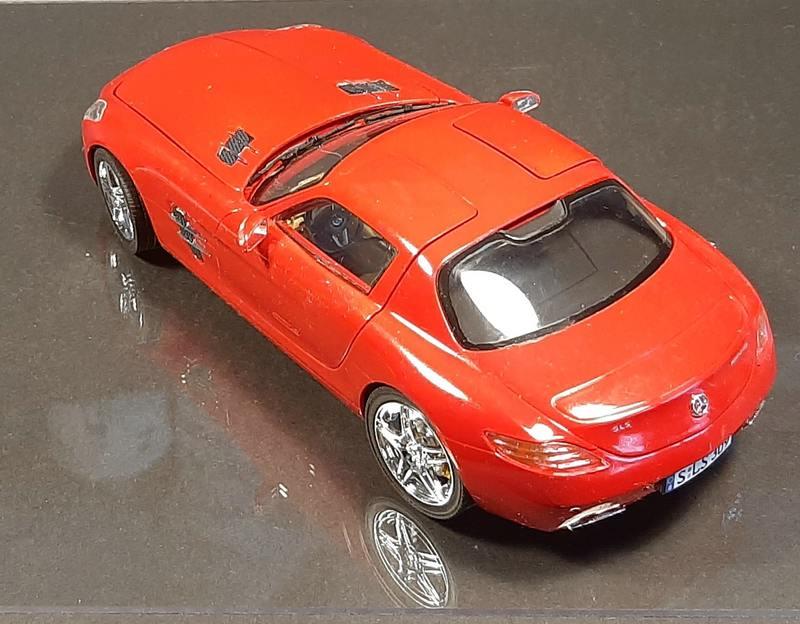Mercedes-Benz SLS AMG, Revell, 1/24 (07100) Comp1603
