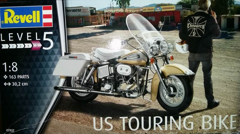 US Touring Bike Revell 1/8 (07937) Comp1606