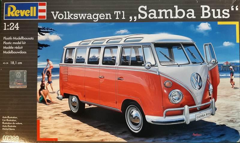 "Volkswagen T1 ""Samba Bus"" 1/24 Revell (07399) Comp1666"