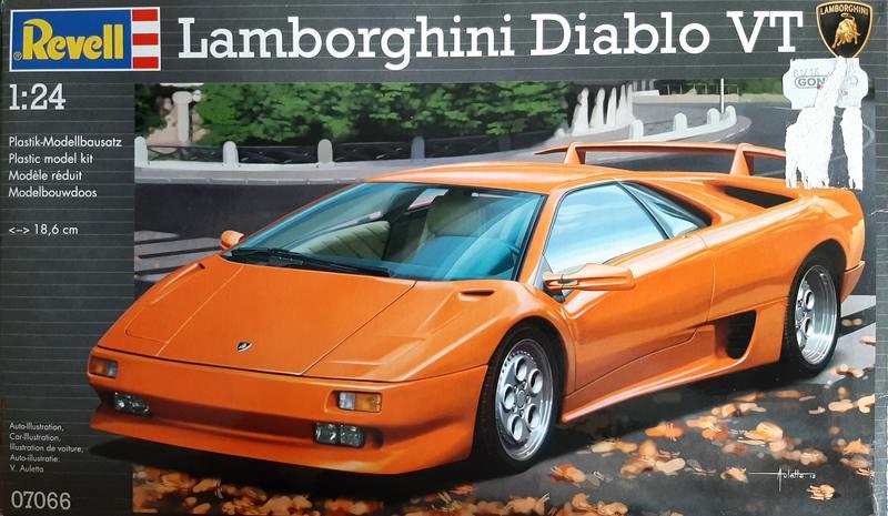 Lamborghini Diablo VT, Revell, 1/24 (07066) Comp1718