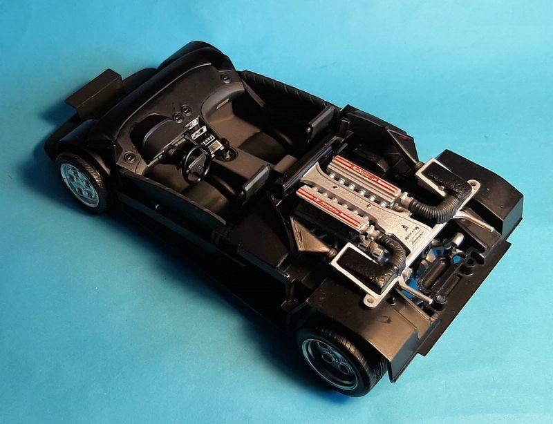 Lamborghini Diablo VT, Revell, 1/24 (07066) Comp1741