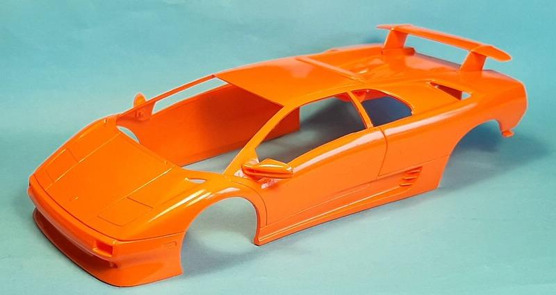 Lamborghini Diablo VT, Revell, 1/24 (07066) Comp1746