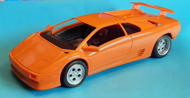 Lamborghini Diablo VT, Revell, 1/24 (07066) Comp1748