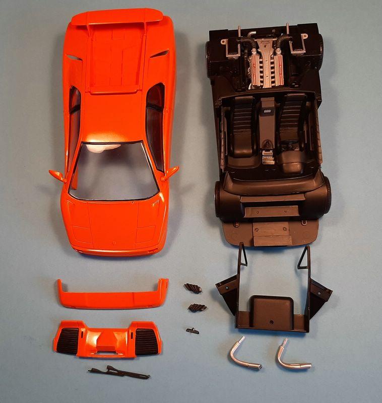Lamborghini Diablo VT, Revell, 1/24 (07066) Comp1750