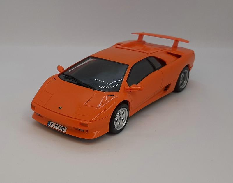 Lamborghini Diablo VT, Revell, 1/24 (07066) Comp1754