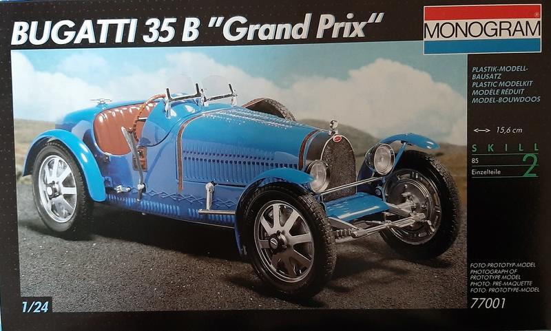"Bugatti 35 B ""Grand Prix"", Monogram 1/24 (77001) Comp1858"