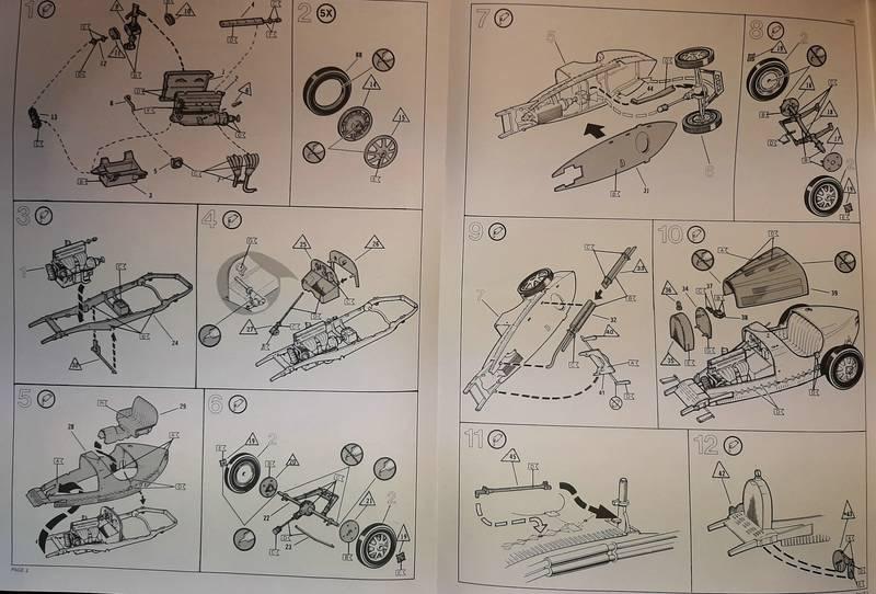"Bugatti 35 B ""Grand Prix"", Monogram 1/24 (77001) Comp1869"