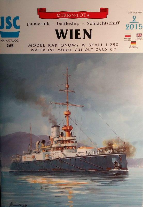 k.u.k. Schlachtschiff SMS Wien 1897, JSC, 1:250 geb. von Diwo58 Comp_602