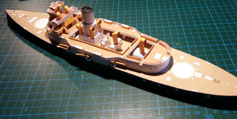 k.u.k. Schlachtschiff SMS Wien 1897, JSC, 1:250 geb. von Diwo58 Comp_651