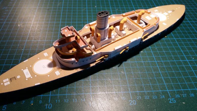 k.u.k. Schlachtschiff SMS Wien 1897, JSC, 1:250 geb. von Diwo58 Comp_652