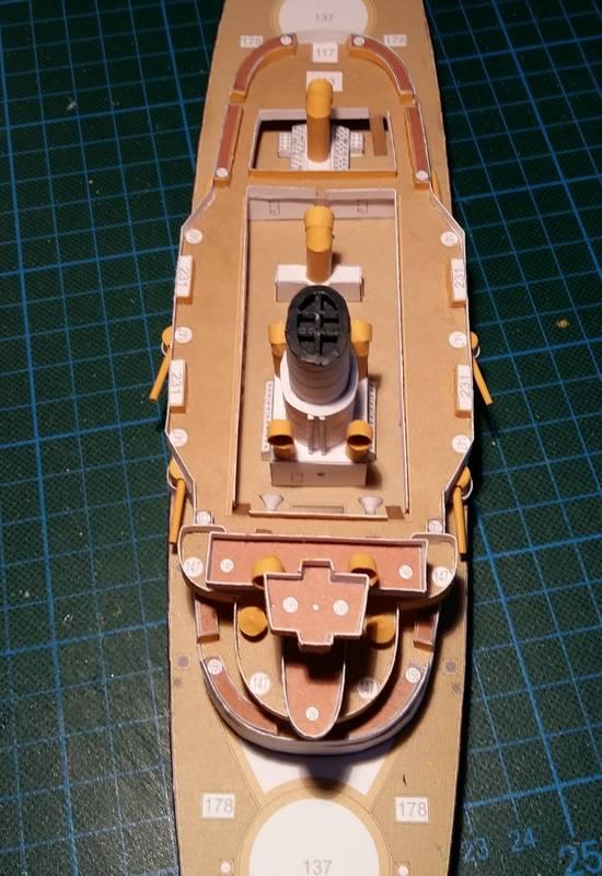 k.u.k. Schlachtschiff SMS Wien 1897, JSC, 1:250 geb. von Diwo58 Comp_653