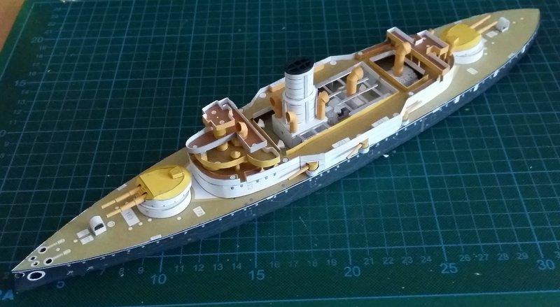 k.u.k. Schlachtschiff SMS Wien 1897, JSC, 1:250 geb. von Diwo58 - Seite 2 Comp_655