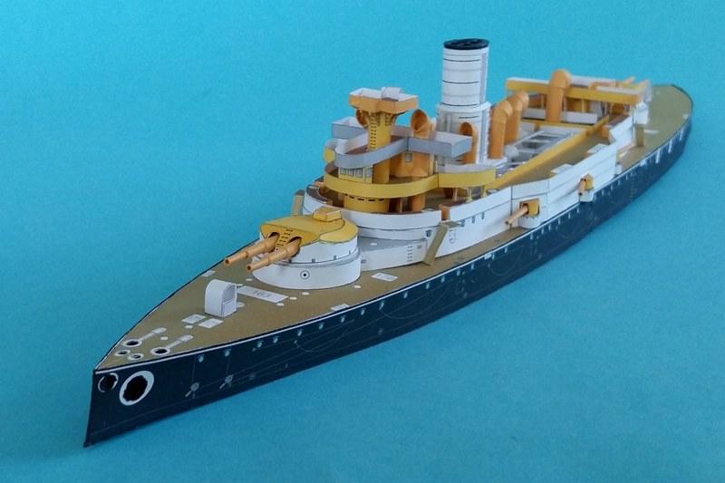 k.u.k. Schlachtschiff SMS Wien 1897, JSC, 1:250 geb. von Diwo58 - Seite 2 Comp_659