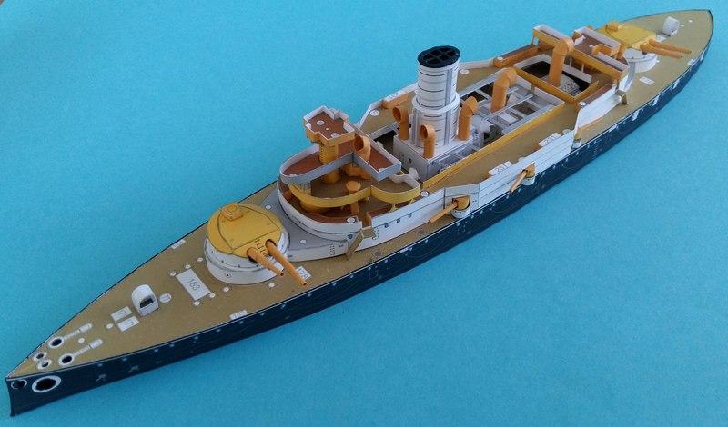 k.u.k. Schlachtschiff SMS Wien 1897, JSC, 1:250 geb. von Diwo58 - Seite 2 Comp_662