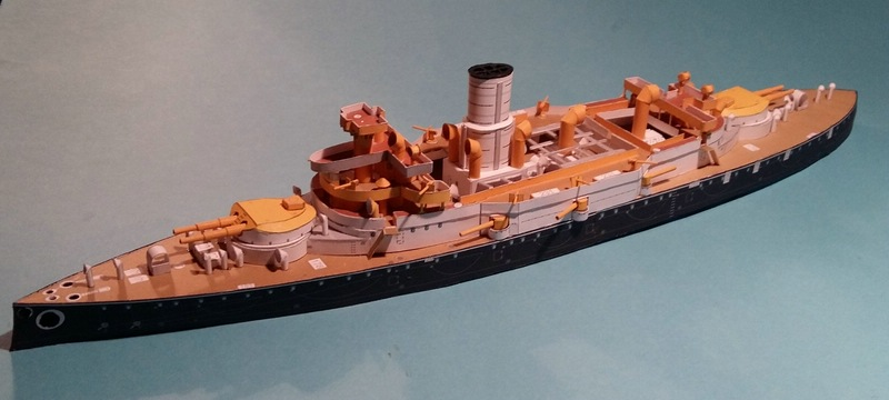 k.u.k. Schlachtschiff SMS Wien 1897, JSC, 1:250 geb. von Diwo58 - Seite 2 Comp_690