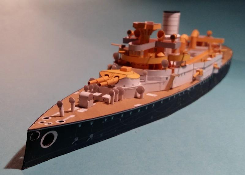 k.u.k. Schlachtschiff SMS Wien 1897, JSC, 1:250 geb. von Diwo58 - Seite 2 Comp_691