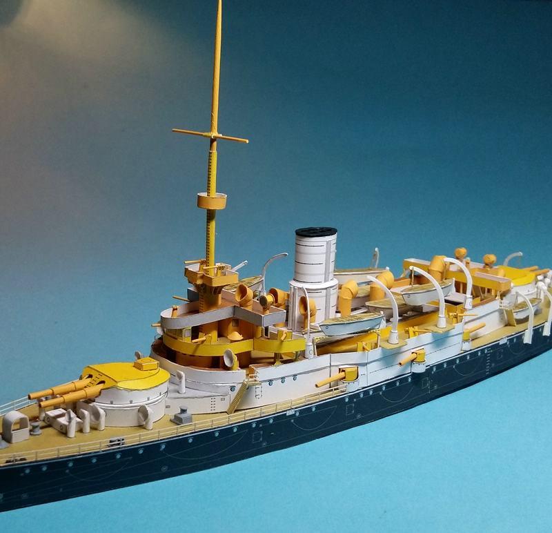 k.u.k. Schlachtschiff SMS Wien 1897, JSC, 1:250 geb. von Diwo58 - Seite 2 Comp_733
