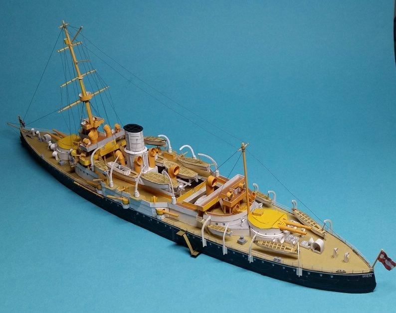 k.u.k. Schlachtschiff SMS Wien 1897, JSC, 1:250 geb. von Diwo58 - Seite 2 Comp_784